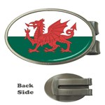Flag_Wales Money Clip (Oval)