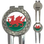 Flag_Wales 3-in-1 Golf Divot