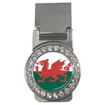 Flag_Wales Money Clip (CZ)