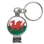 Flag_Wales Nail Clippers Key Chain