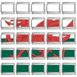 Flag_Wales 9mm Italian Charm (25 pack)