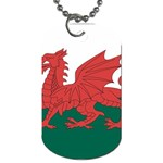 Flag_Wales Dog Tag (One Side)