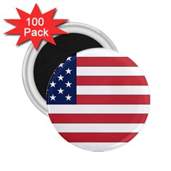 Flag_United States 2.25  Magnet (100 pack)  from ArtsNow.com Front