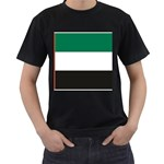 Flag_United Arab Emirates Black T-Shirt