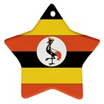 Flag_Uganda Ornament (Star)