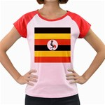 Flag_Uganda Women s Cap Sleeve T-Shirt