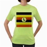 Flag_Uganda Women s Green T-Shirt
