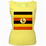 Flag_Uganda Women s Yellow Tank Top