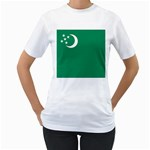Flag_Turkmenistan Women s T-Shirt