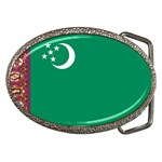 Flag_Turkmenistan Belt Buckle