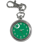 Flag_Turkmenistan Key Chain Watch