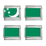Flag_Turkmenistan 9mm Italian Charm (4 pack)