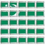 Flag_Turkmenistan 9mm Italian Charm (25 pack)