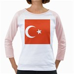 Flag_Turkey Girly Raglan
