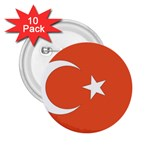 Flag_Turkey 2.25  Button (10 pack)