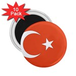 Flag_Turkey 2.25  Magnet (10 pack)