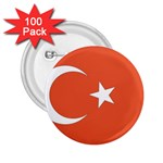 Flag_Turkey 2.25  Button (100 pack)