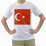 Flag_Turkey White T-Shirt