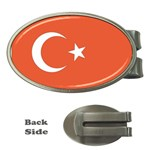 Flag_Turkey Money Clip (Oval)