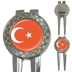 Flag_Turkey 3-in-1 Golf Divot