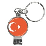 Flag_Turkey Nail Clippers Key Chain