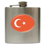 Flag_Turkey Hip Flask (6 oz)
