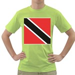 Flag_Trinidad & Tobago Green T-Shirt