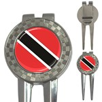 Flag_Trinidad & Tobago 3-in-1 Golf Divot