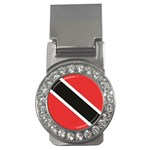Flag_Trinidad & Tobago Money Clip (CZ)