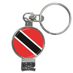 Flag_Trinidad & Tobago Nail Clippers Key Chain