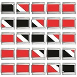 Flag_Trinidad & Tobago 9mm Italian Charm (25 pack)