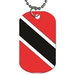 Flag_Trinidad & Tobago Dog Tag (One Side)