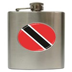 Flag_Trinidad & Tobago Hip Flask (6 oz)