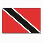 Flag_Trinidad & Tobago Postcards 5  x 7  (Pkg of 10)