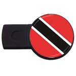 Flag_Trinidad & Tobago USB Flash Drive Round (2 GB)