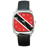 Flag_Trinidad & Tobago Square Metal Watch