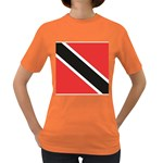 Flag_Trinidad & Tobago Women s Dark T-Shirt