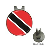 Flag_Trinidad & Tobago Golf Ball Marker Hat Clip