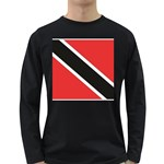 Flag_Trinidad & Tobago Long Sleeve Dark T-Shirt