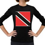 Flag_Trinidad & Tobago Women s Long Sleeve Dark T-Shirt