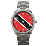 Flag_Trinidad & Tobago Sport Metal Watch