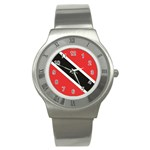 Flag_Trinidad & Tobago Stainless Steel Watch