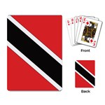 Flag_Trinidad & Tobago Playing Cards Single Design