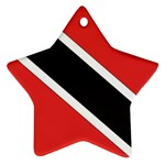 Flag_Trinidad & Tobago Star Ornament (Two Sides)