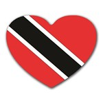 Flag_Trinidad & Tobago Mousepad (Heart)