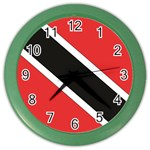Flag_Trinidad & Tobago Color Wall Clock