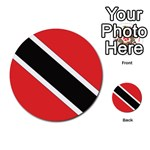 Flag_Trinidad & Tobago Multi-purpose Cards (Round)