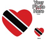 Flag_Trinidad & Tobago Multi-purpose Cards (Heart)