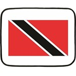 Flag_Trinidad & Tobago Mini Fleece Blanket(Two Sides)