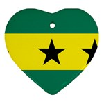 Flag_Sao Tome & Principe Ornament (Heart)